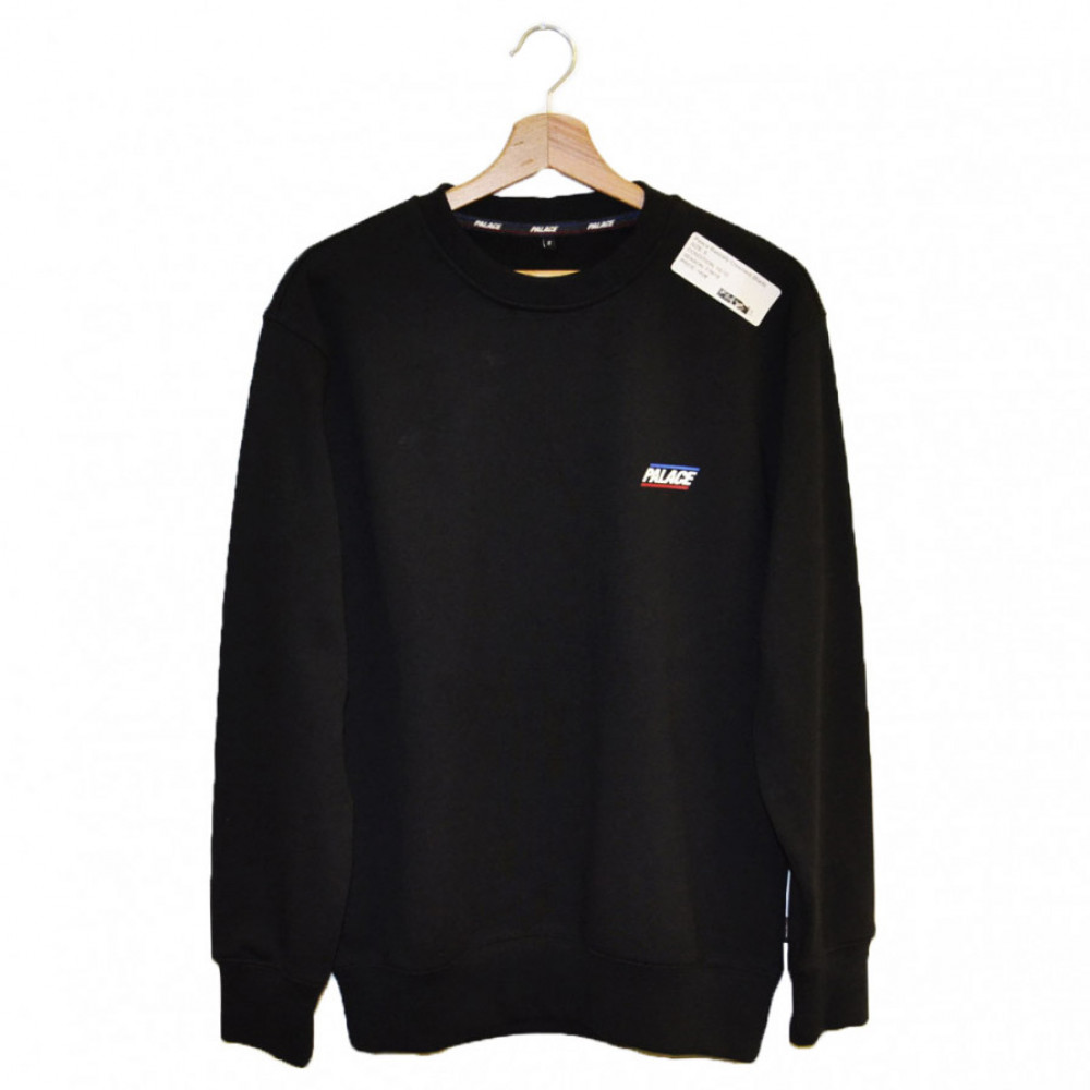 Palace Basically Crewneck (Black)