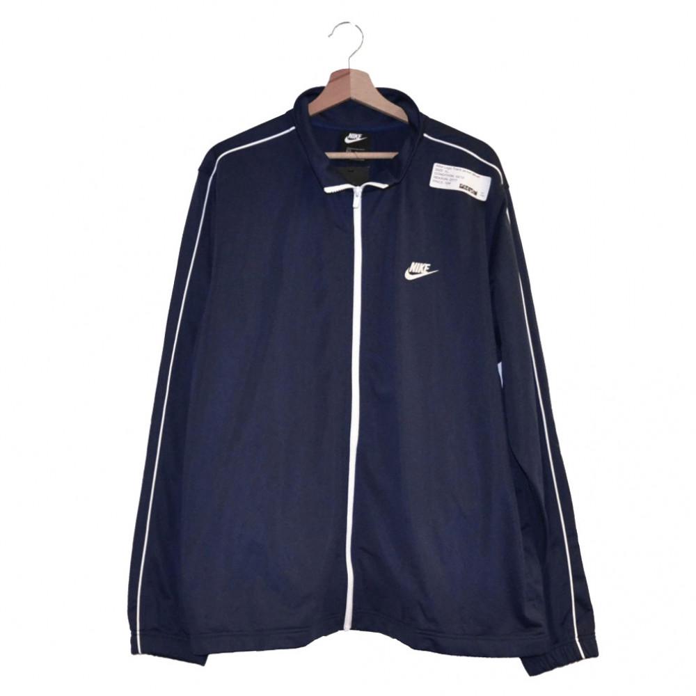 Nike Logo Track Jacket (Blue)