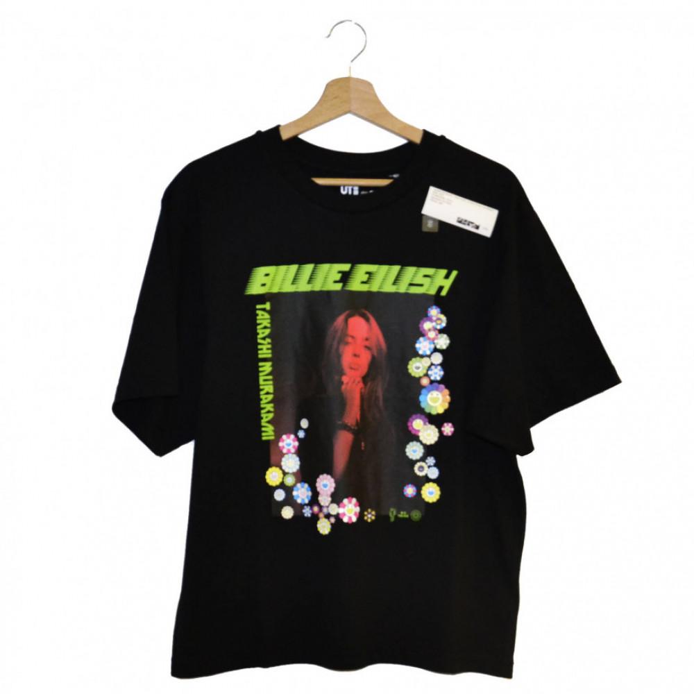 Takashi Murakami x Billie Eilish x Uniqlo Photo Tee (Black)