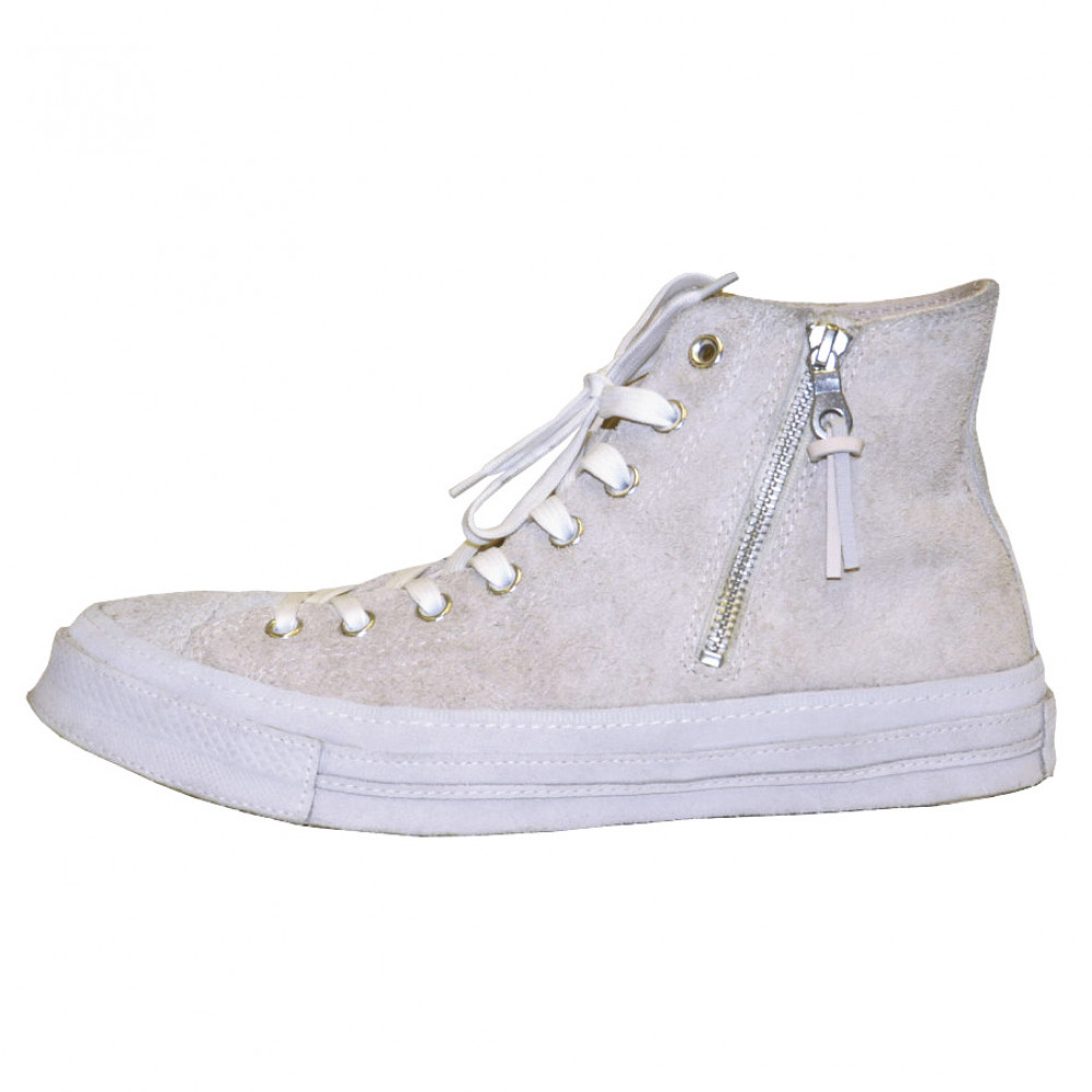 Chuck Taylor All-Star Hi 1970 Suede Zip (Beige)