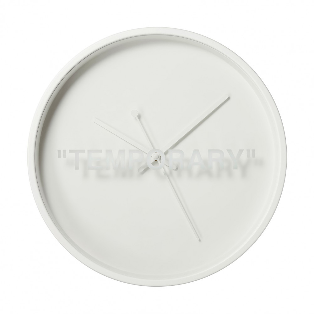 IKEA x Virgil Abloh Temporary Clocks (White)