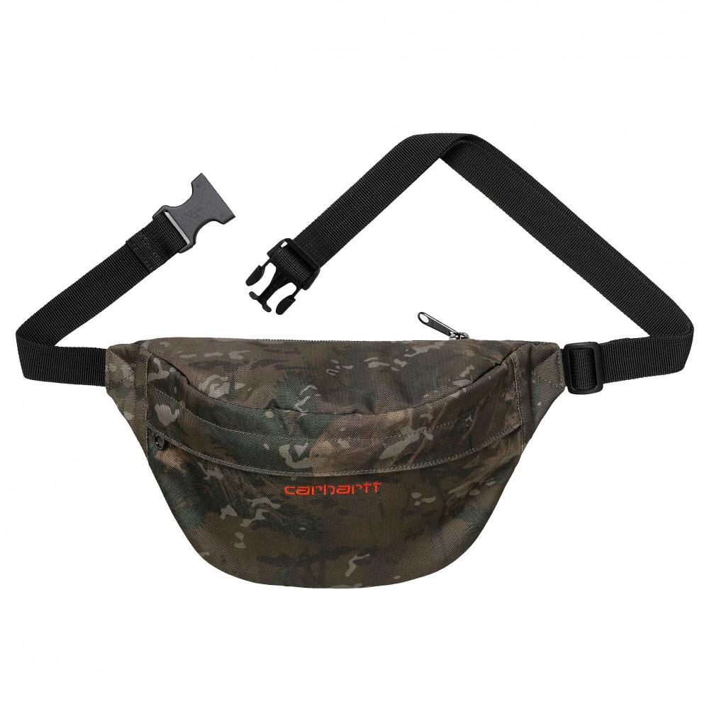 Carhartt WIP Payton Shoulder Bag (Camo/Orange)