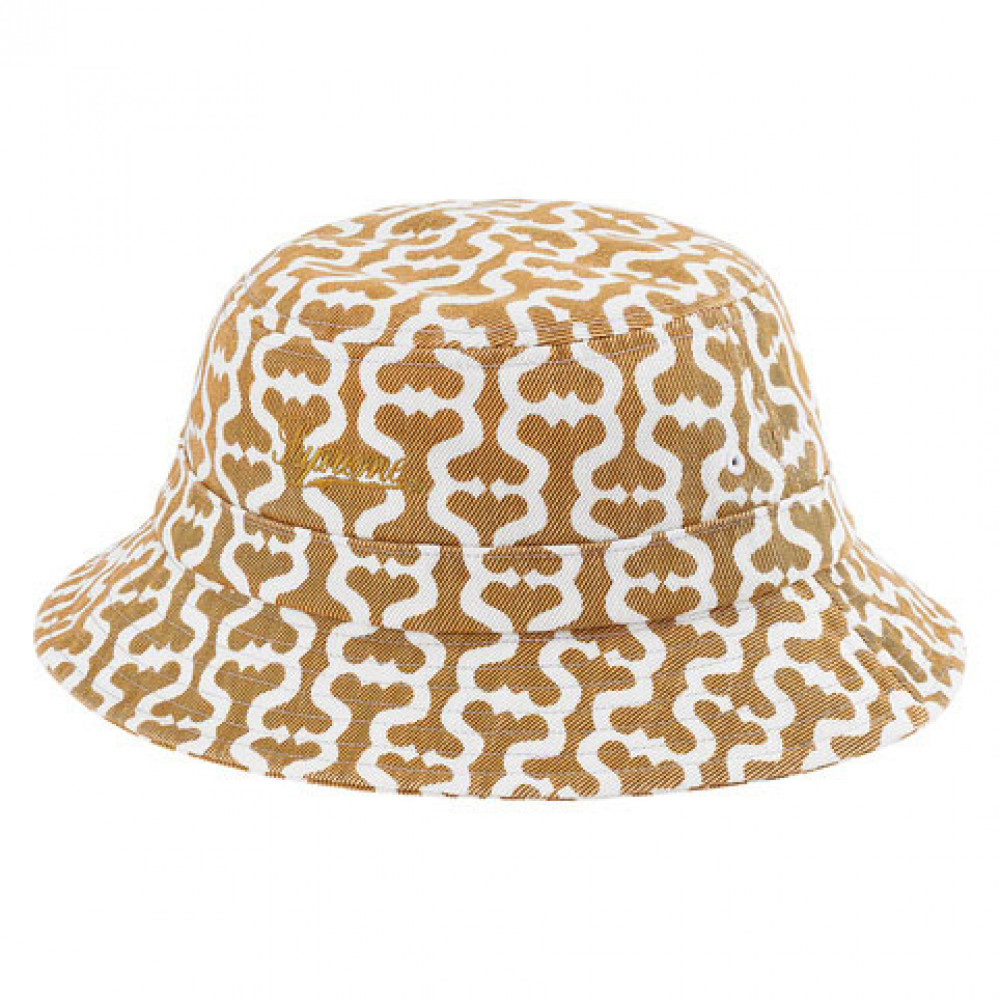 Supreme Monogram S Logo Twill Crusher Hat (Tan)