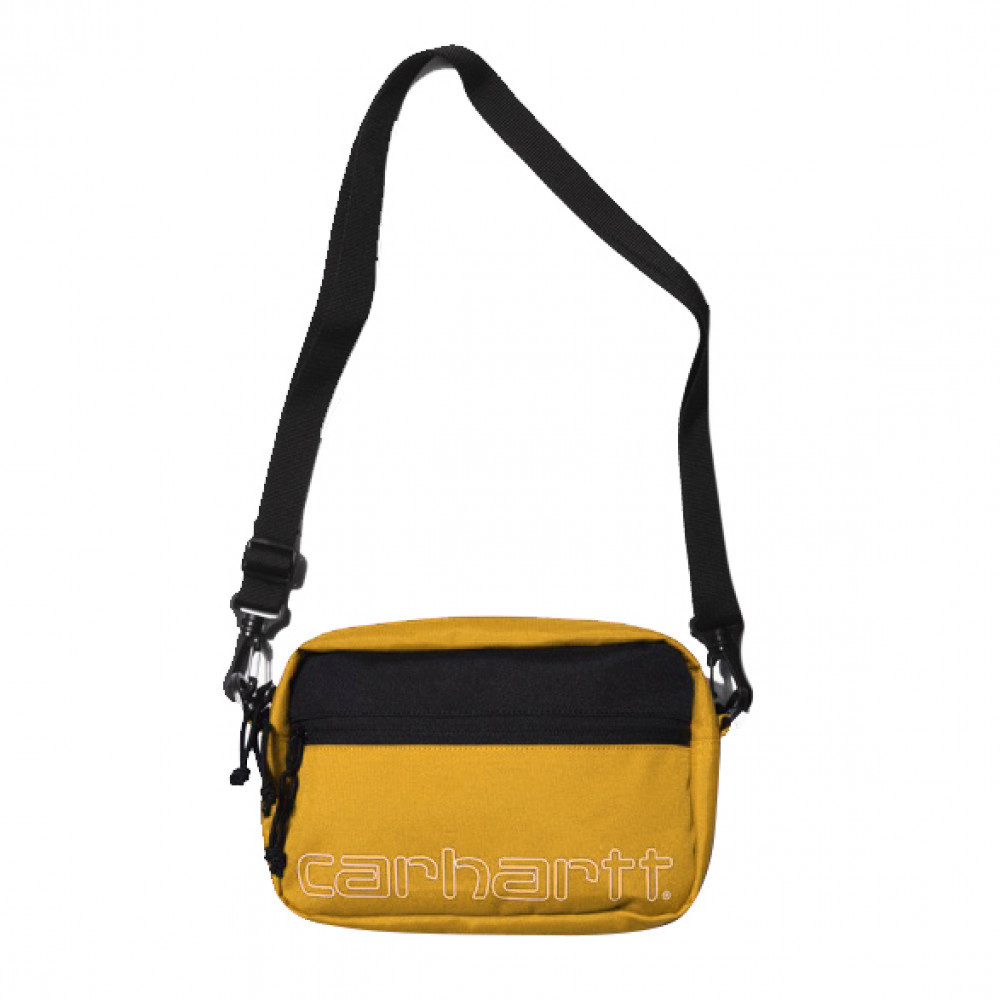 Carhartt WIP Team Script Shoulder Bag (Yellow)