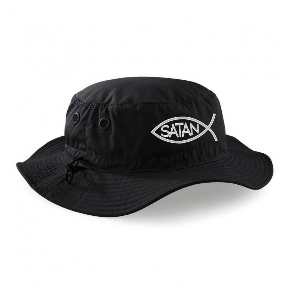 Flace Satan Bucket Hat (Black)