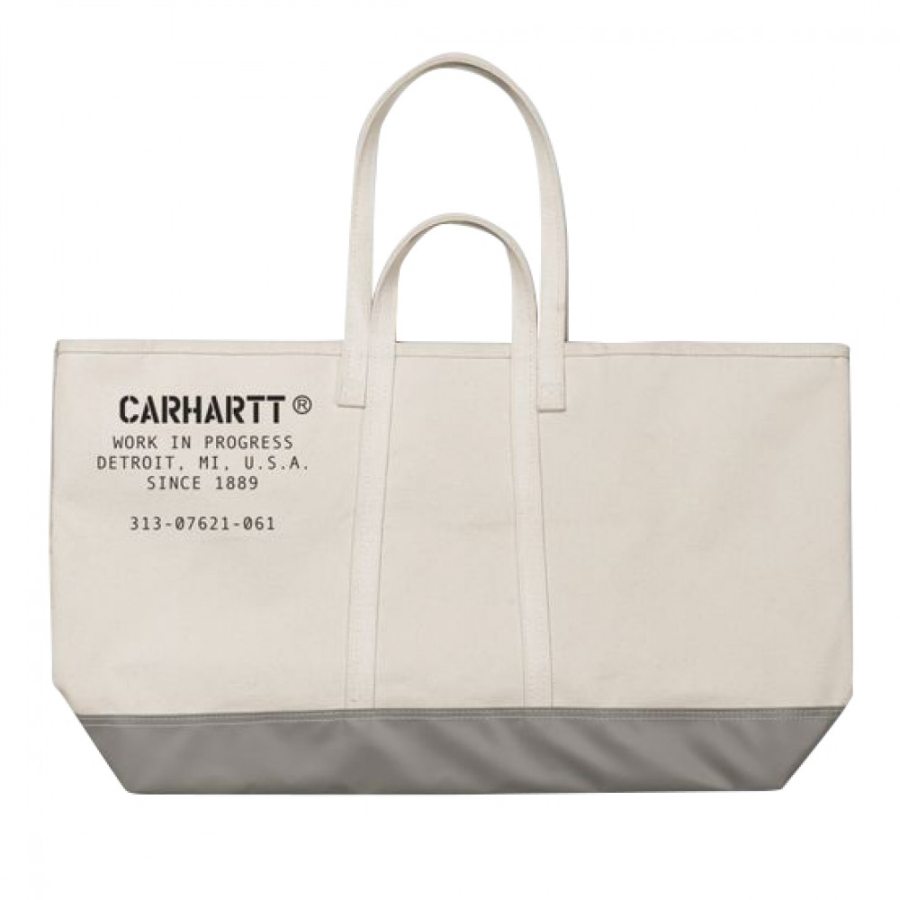 Carhartt WIP x Steele Canvas Tote Bag (Off White)