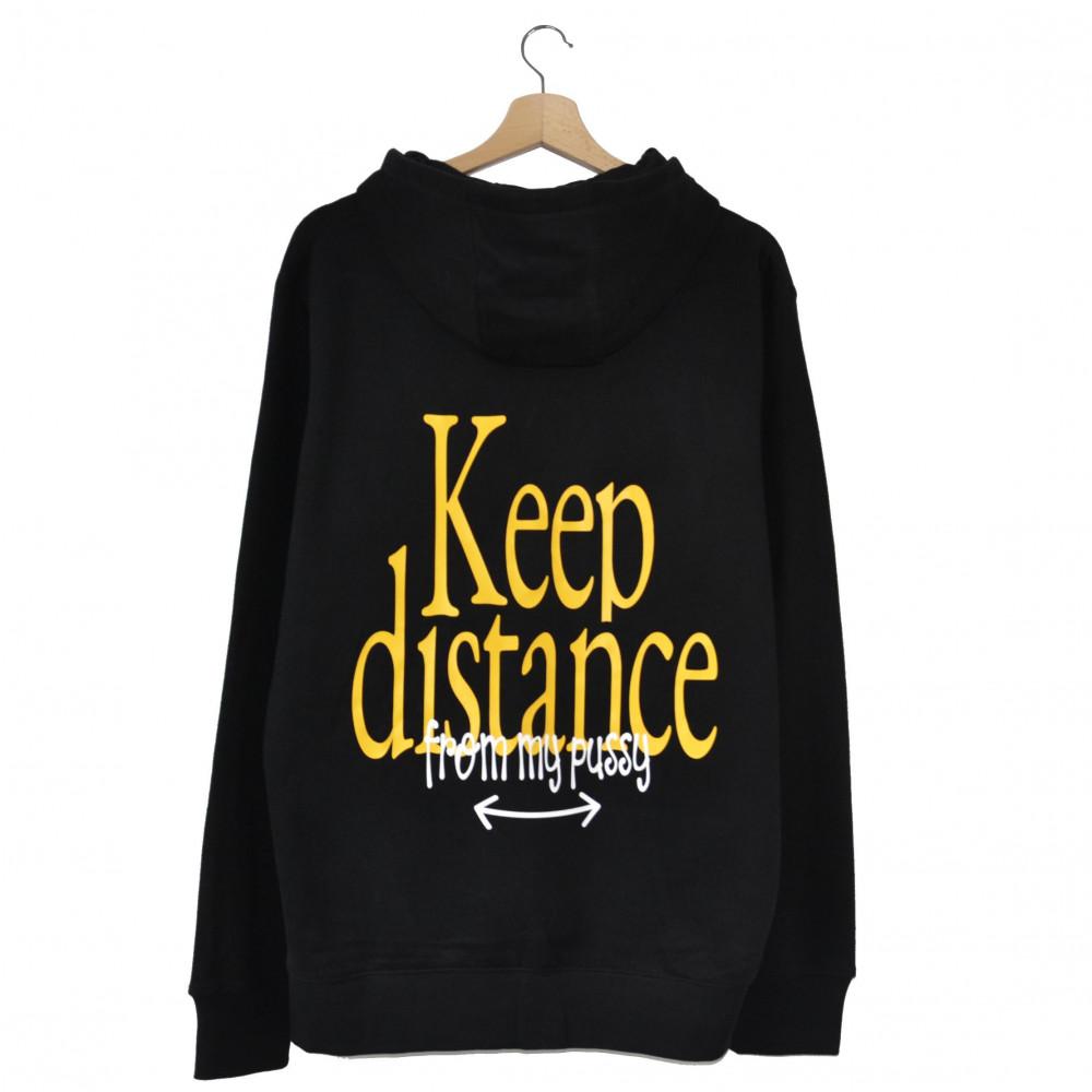 EATPUSSY Keep Distance Hoodie (Black)